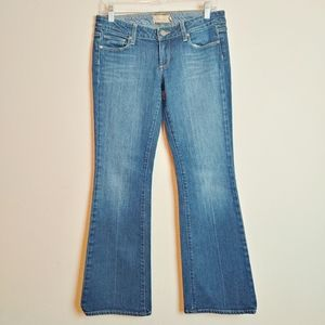 Paige Laurel Canyon Low Rise Bootcut Jeans